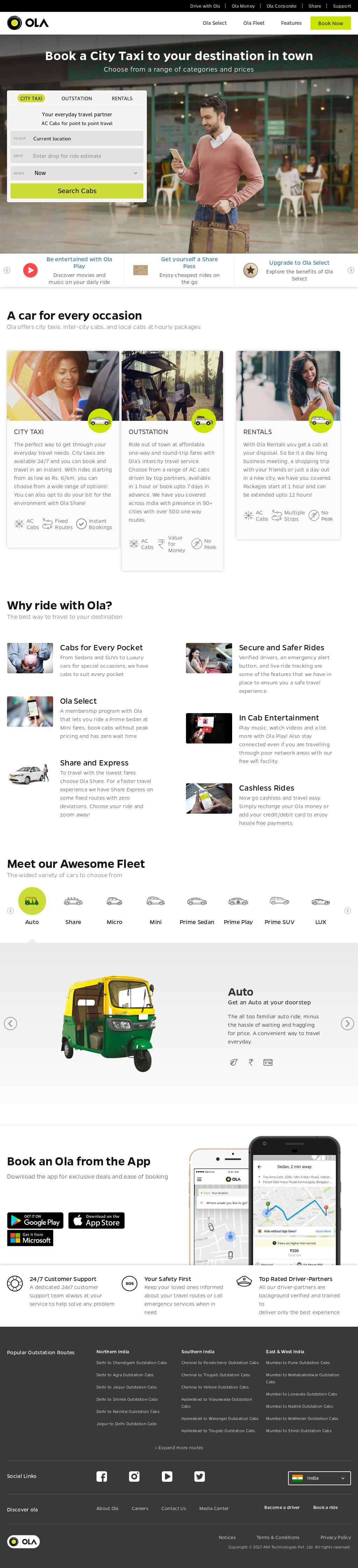 Ola Competitors Revenue And Employees Owler Company Profile