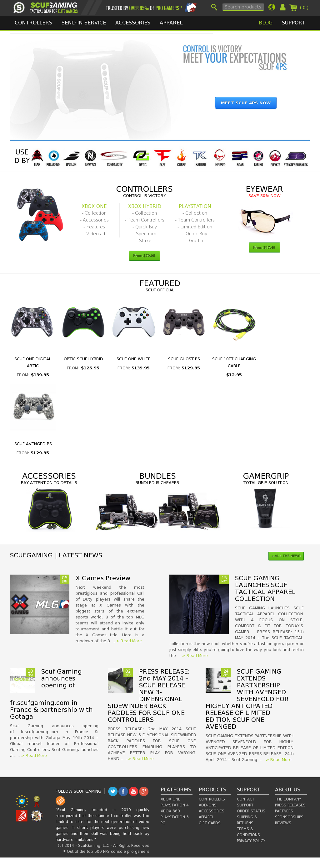 ScufGaming Competitors, Revenue and Employees - Owler