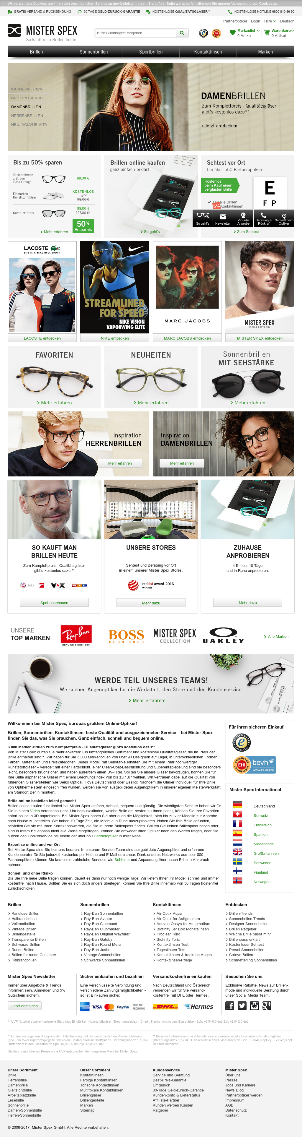 Mister Spex Competitors, Revenue and Employees - Owler Company Profile