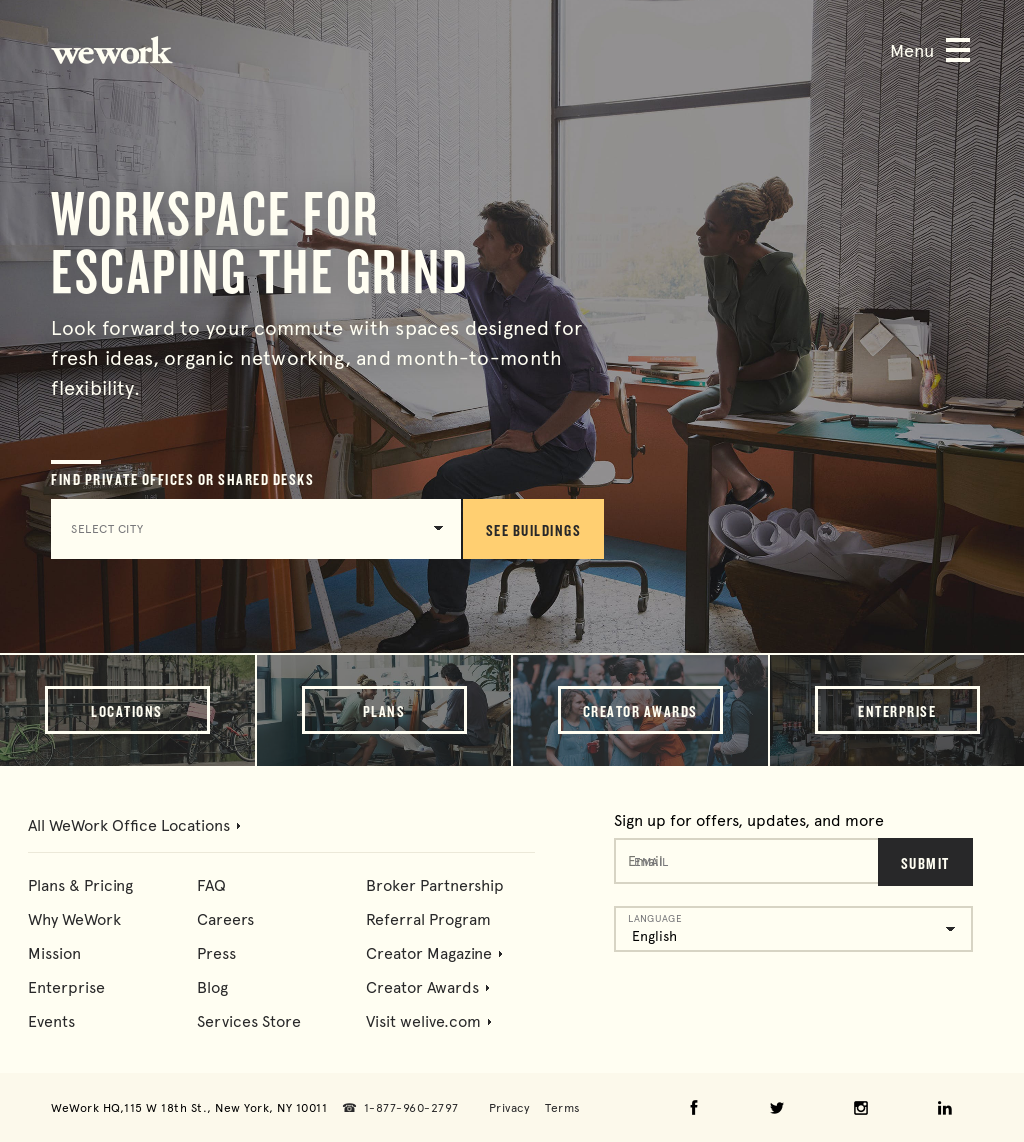WeWork Competitors, Revenue and Employees - Owler Company