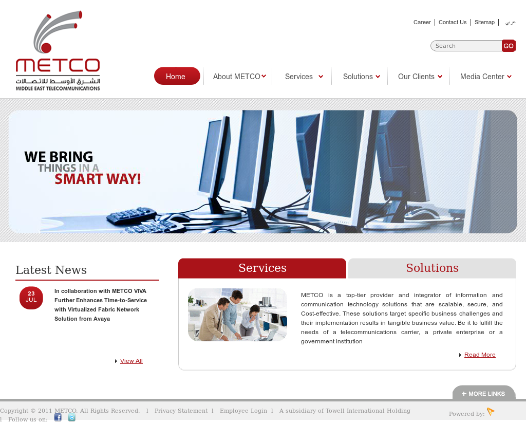 Owler Reports - Press Release: METCO : Kharafi Global Serves Up More