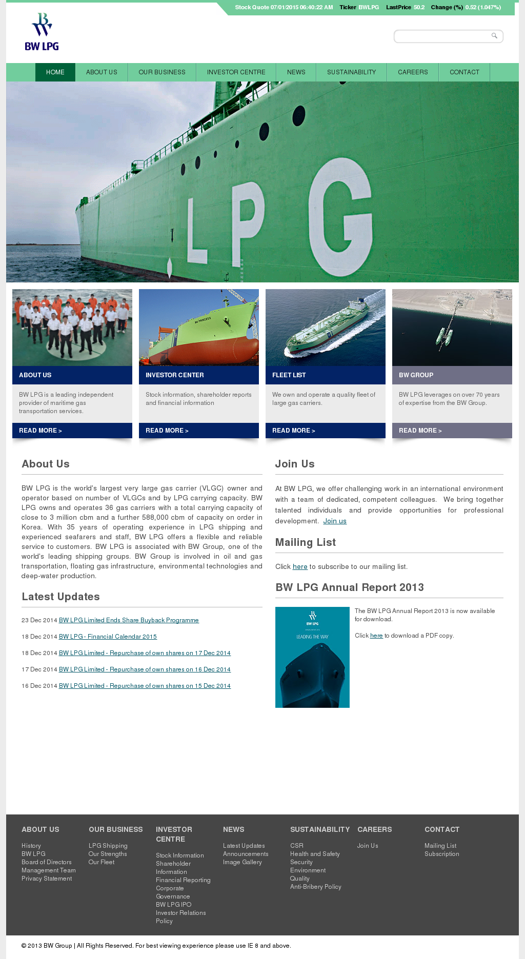BW LPG Competitors, Revenue and Employees - Owler Company Profile