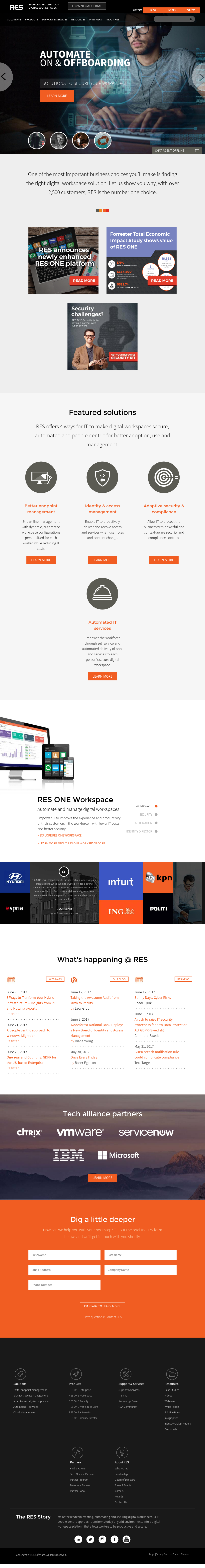 RES Software Competitors, Revenue and Employees - Owler Company Profile