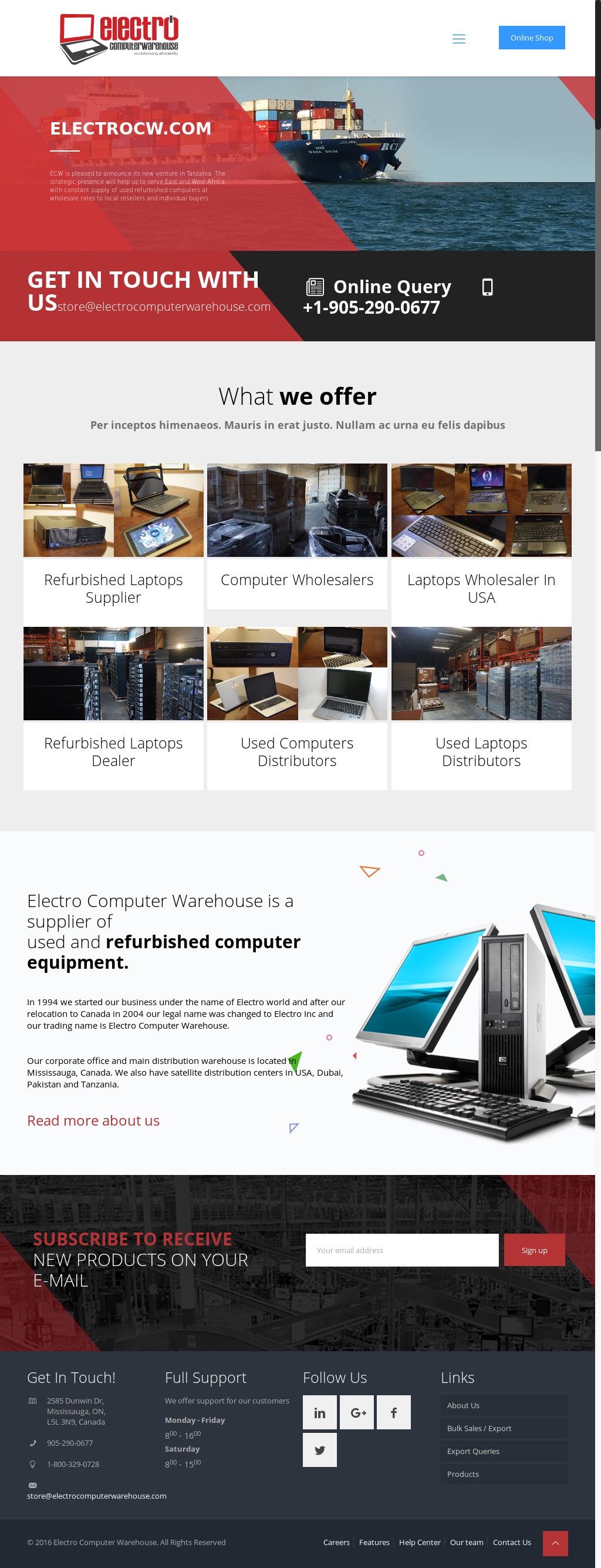 Electro Computer Warehouse Competitors, Revenue and Employees