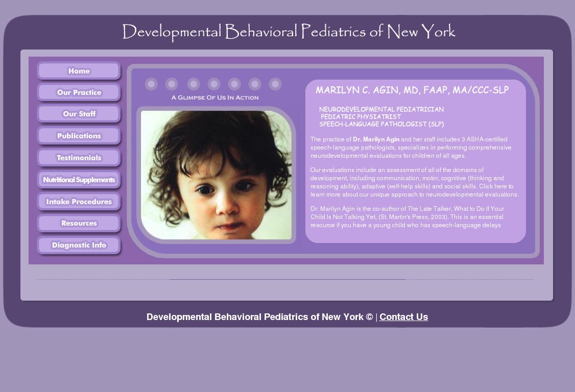 Developmental Behavioral Pediatrics of New York Competitors, Revenue
