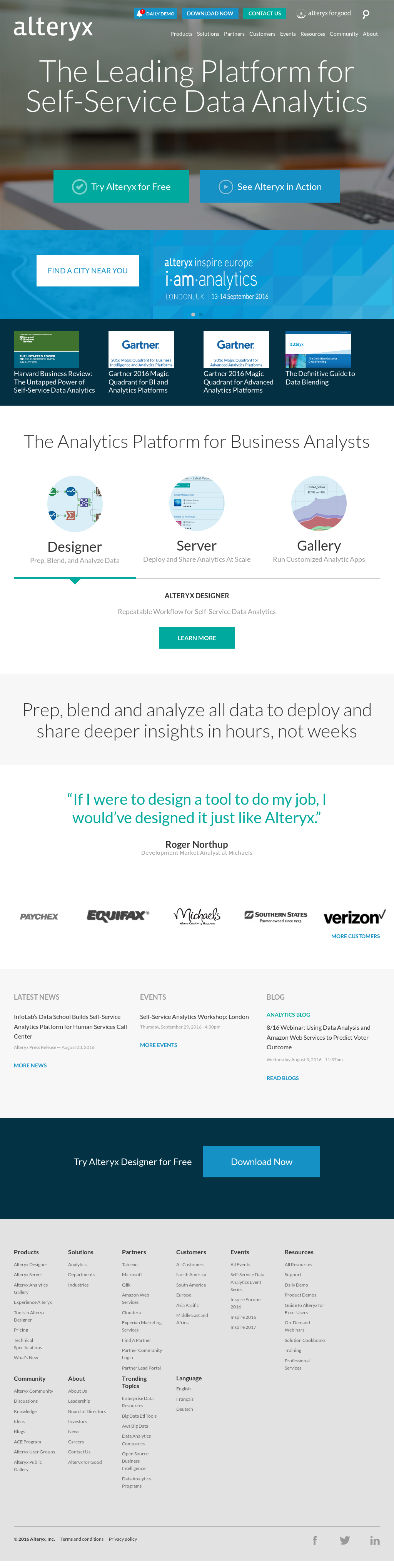 Alteryx Competitors, Revenue and Employees - Owler Company