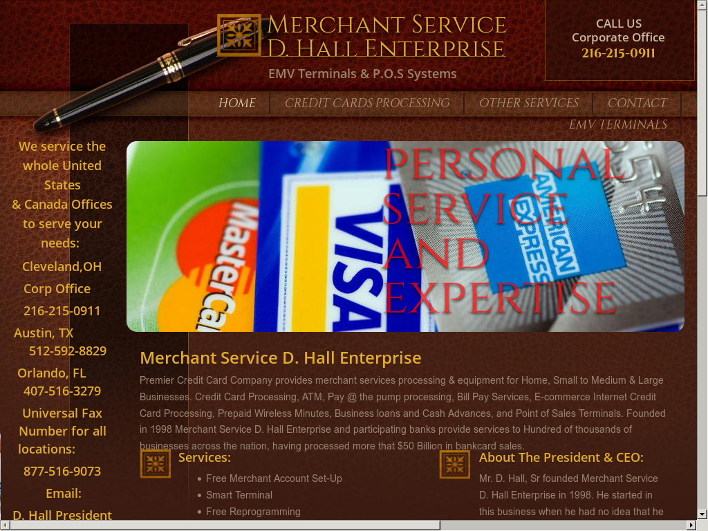 Merchant Service D  Hall Enterprise Competitors, Revenue and