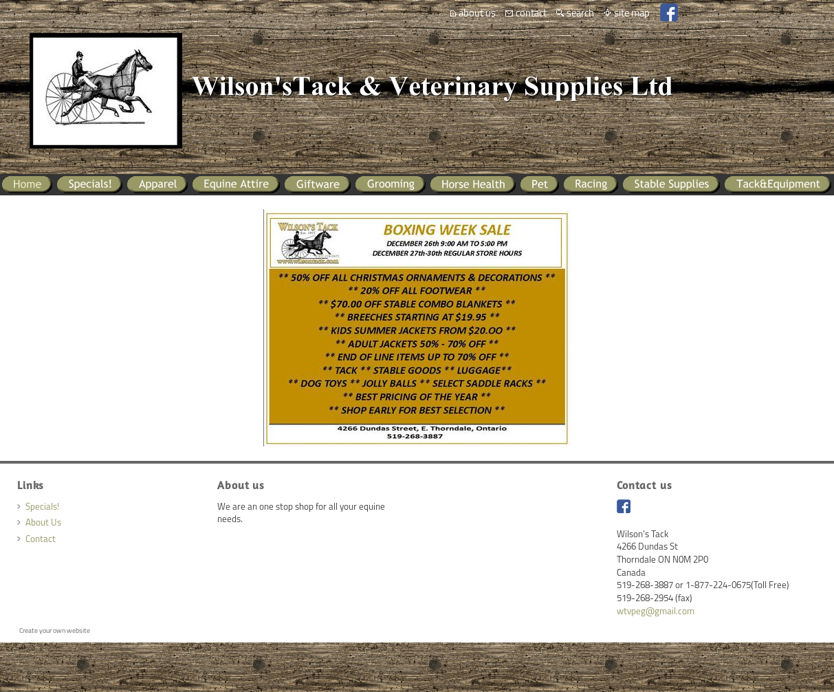Wilson's Tack Competitors, Revenue and Employees - Owler Company Profile