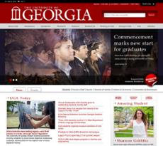 UGA website history
