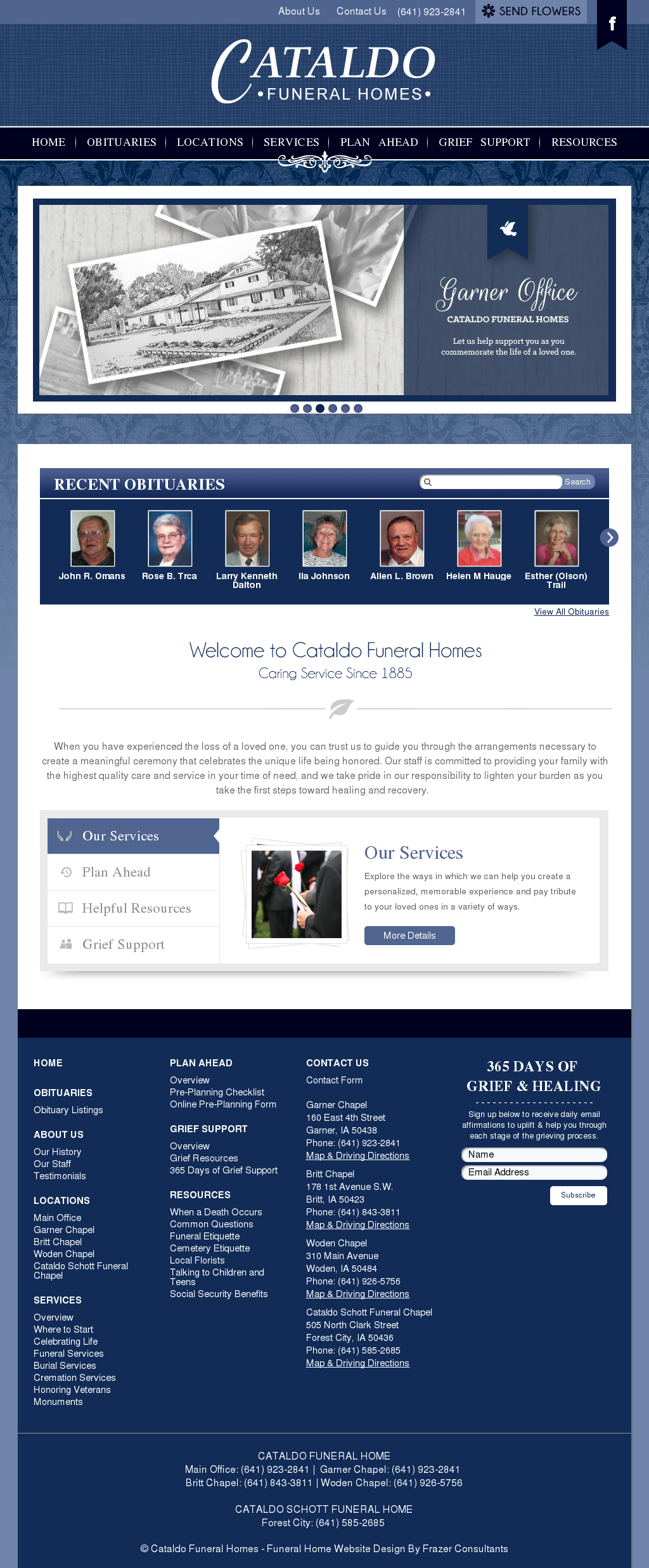 Cataldo Funeral Home Competitors, Revenue and Employees