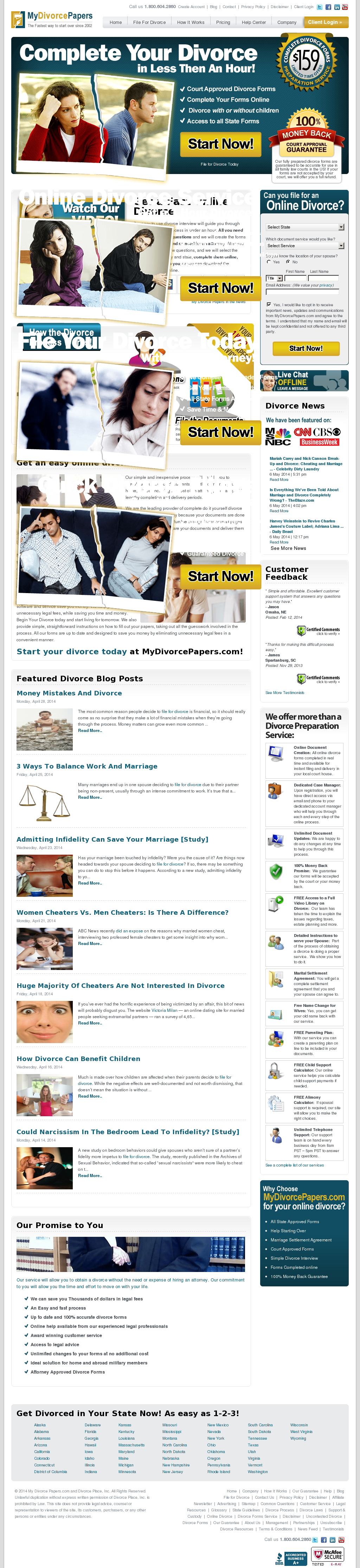 MyDivorcePapers Competitors, Revenue and Employees - Owler