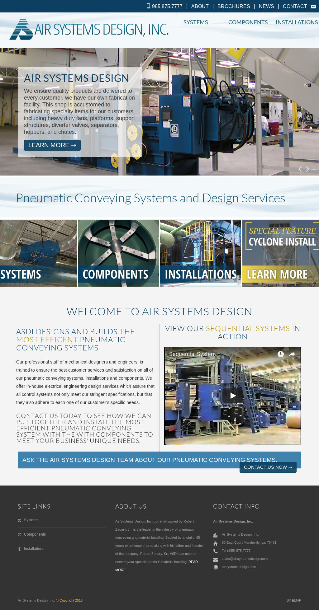 Air Systems Design Competitors Revenue And Employees Owler Company Profile