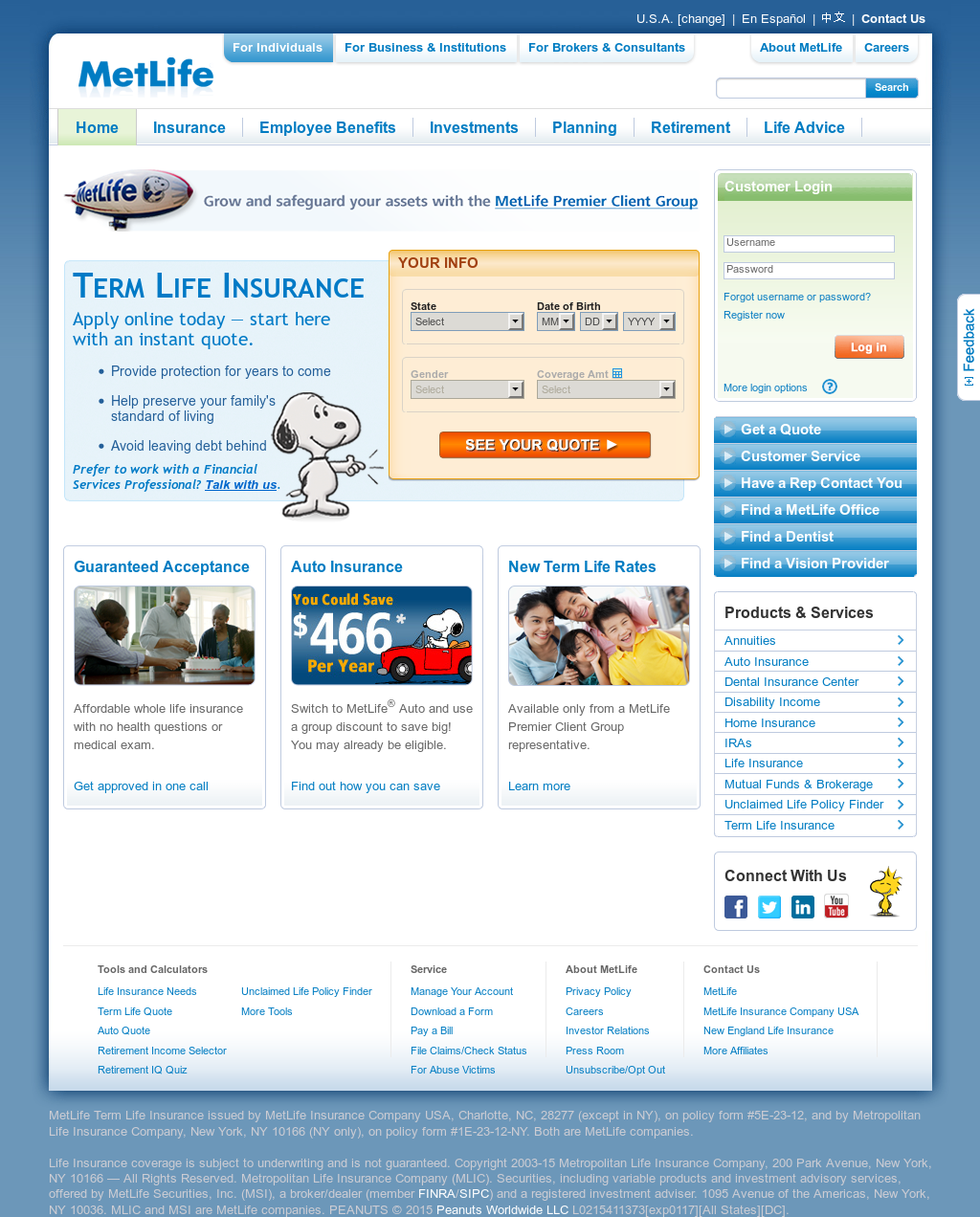 Metlife Life Insurance Reviews >> Metlife Competitors Revenue And Employees Owler Company