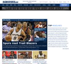 CBSSports website history