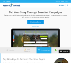 GiveCorps website history