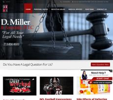 D. Miller website history