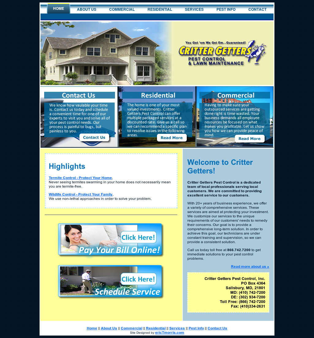 Critter Getters Pest Control Compeors Revenue And Employees Owler Company Profile