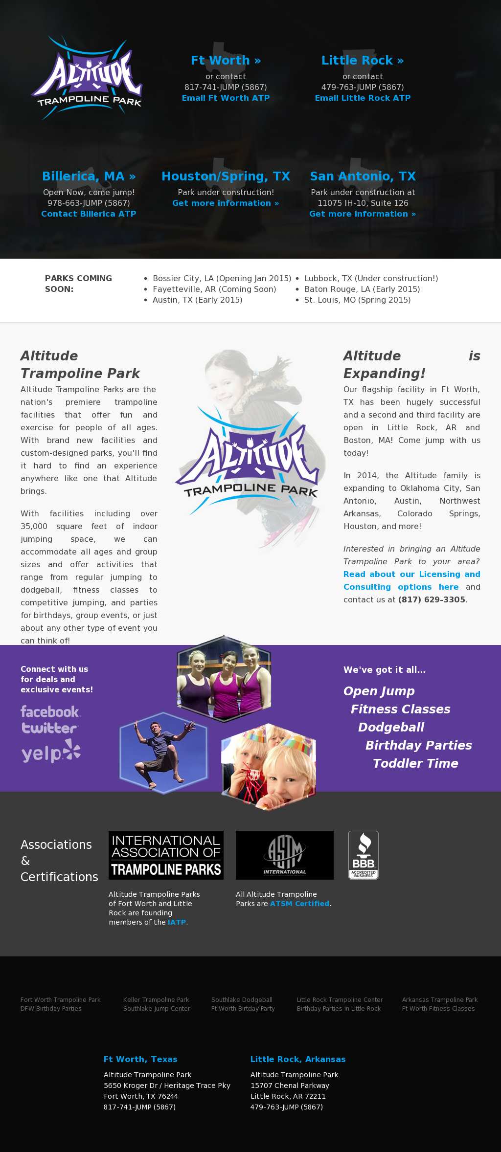 Altitude Trampoline Park Competitors, Revenue and Employees