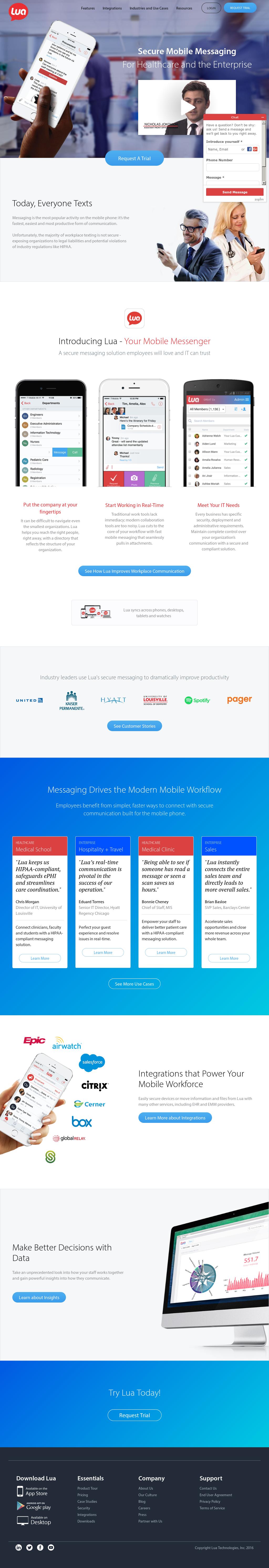 Lua Competitors, Revenue and Employees - Owler Company Profile