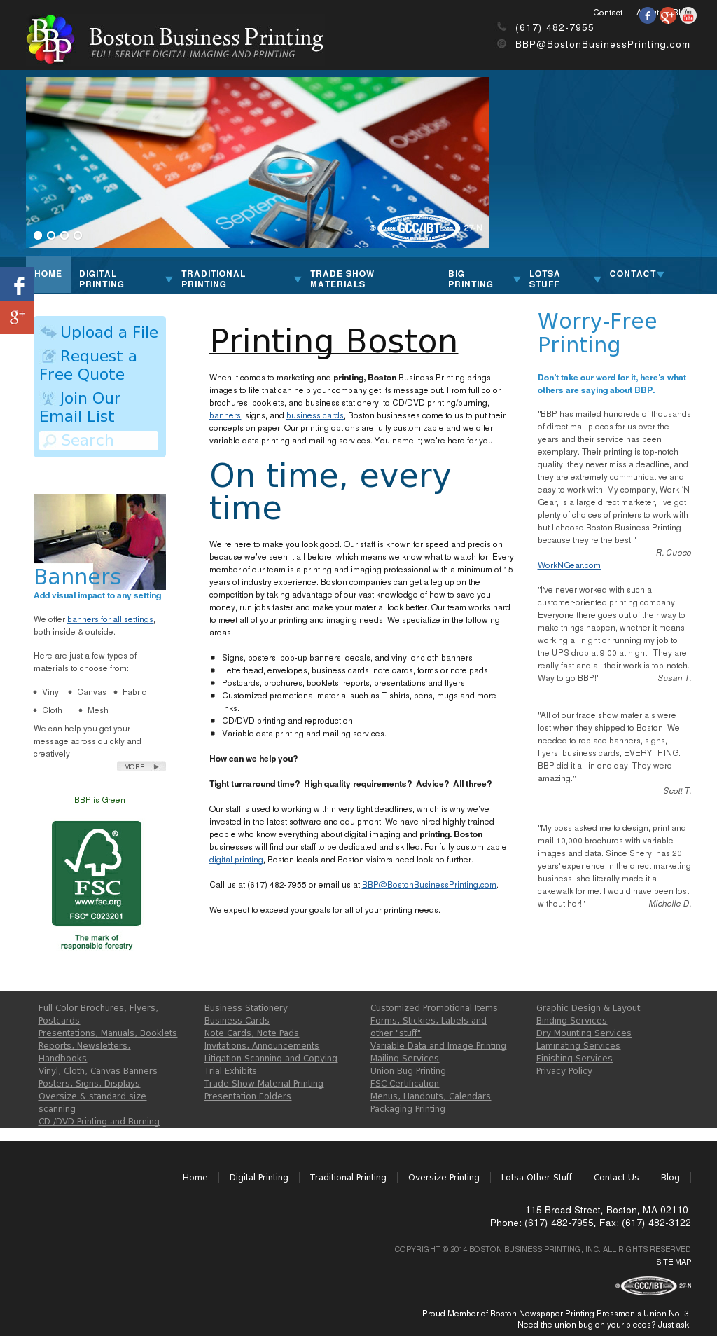 Boston Business Printing Competitors Revenue And Employees Owler
