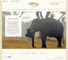 Orange County Resorts & Hotel website history