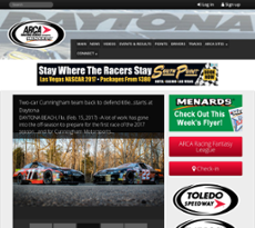 ARCA website history