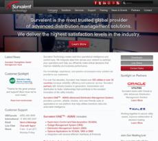 Survalent Technology website history