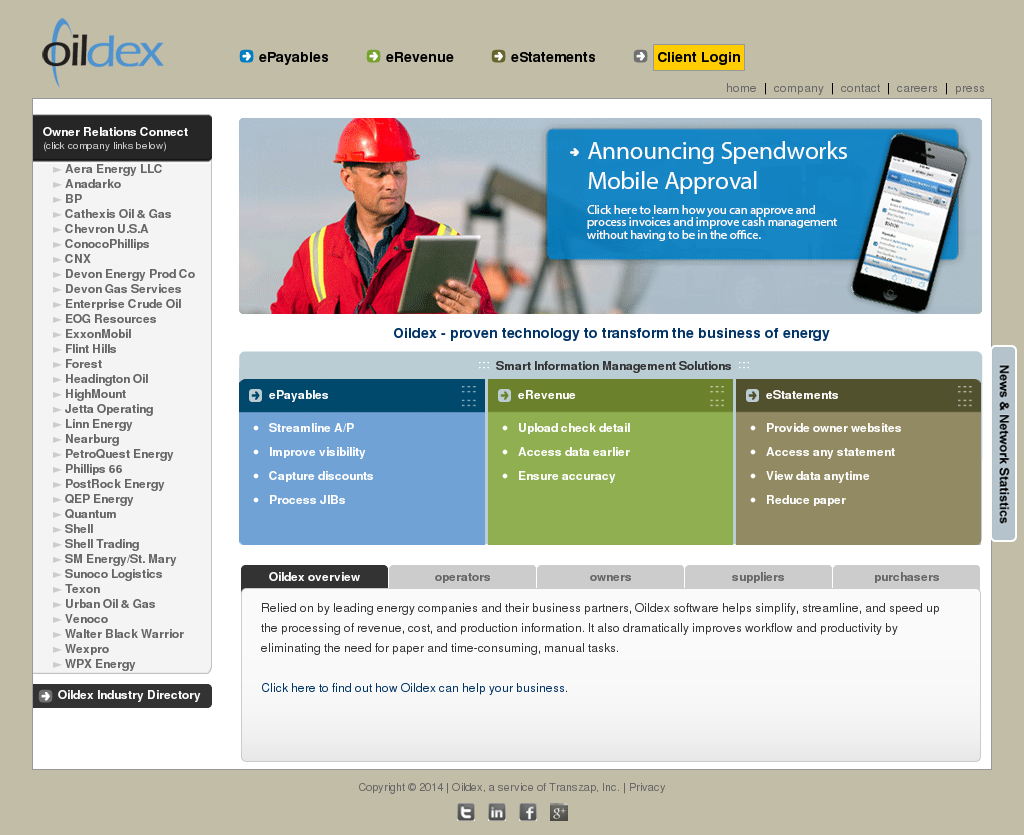 Owler Reports Oildex Posted A Video OpenInvoice Supplier Link - Openinvoice supplier link