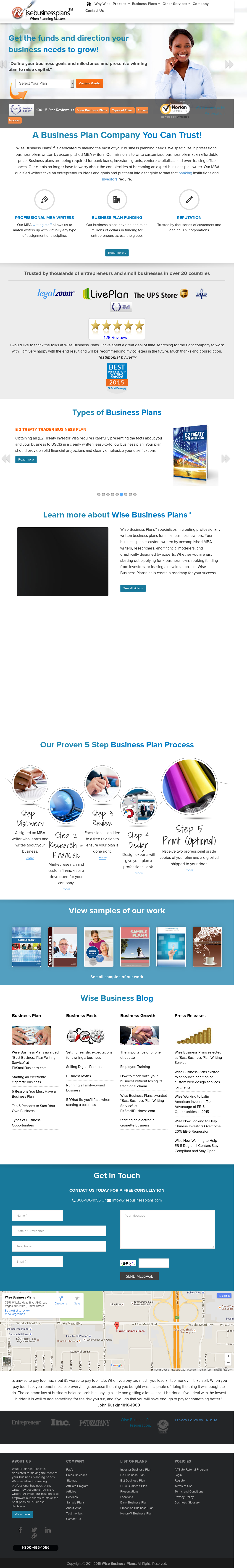 wise business plans reviews