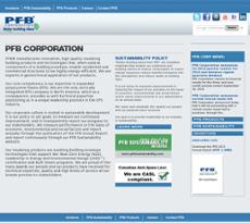 PFB website history