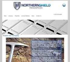 Northern Shield website history