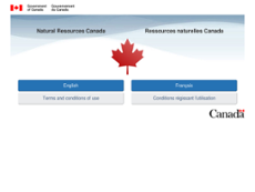 Natural Resources Canada website history