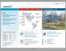 Canexus website history