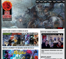 REDG website history