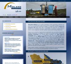 Midland Exploration website history