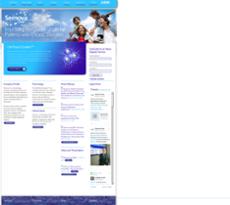 Sernova website history