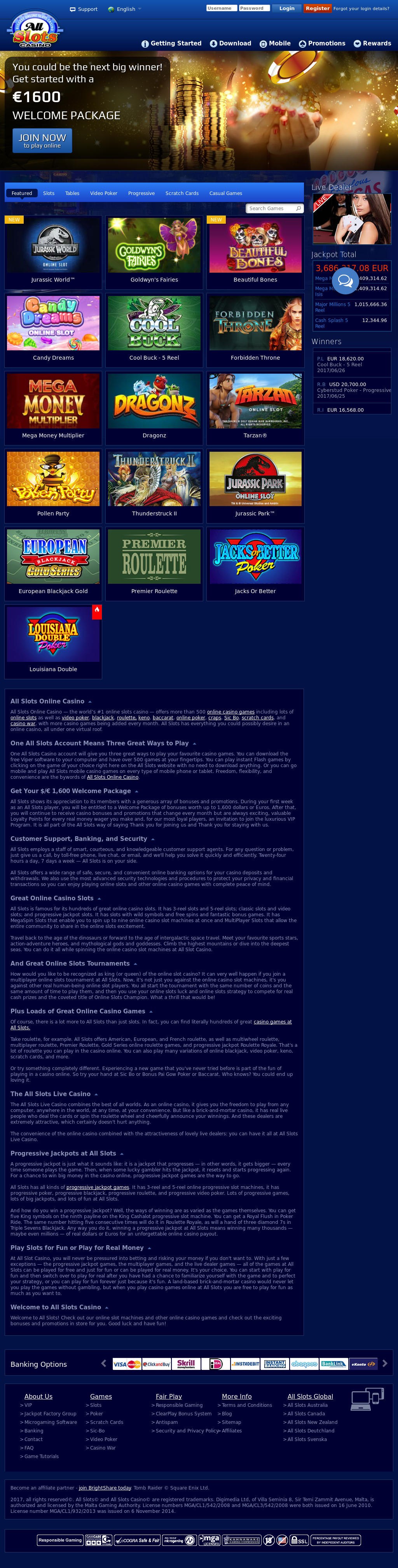 free casino slots no download