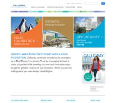 Calloway website history