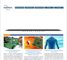Intrinsyc website history