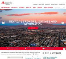 Commerce Real Estate website history