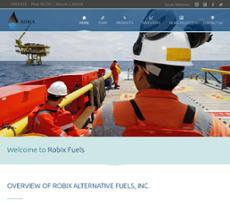 Robix Alternative Fuels website history