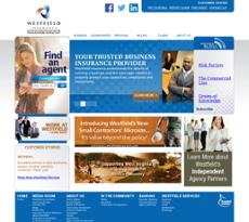 Westfield Insurance website history