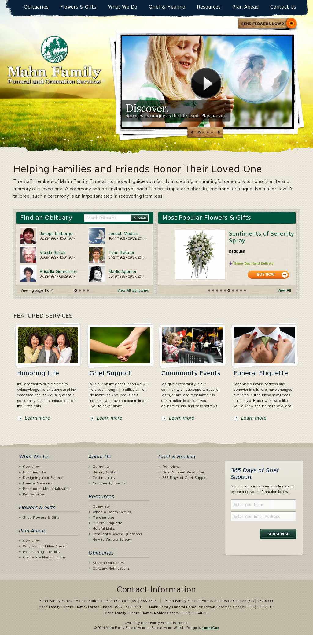 Mahn Family Funeral Home Competitors, Revenue and Employees - Owler
