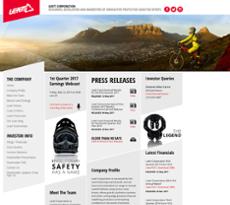 Leatt website history