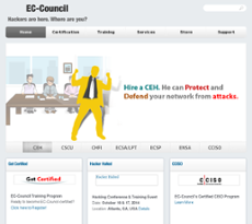 EC-Council website history