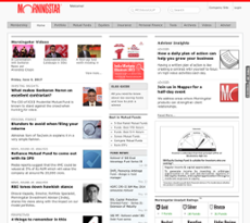 Morningstar website history