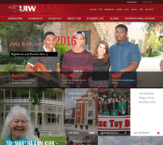 UIW website history