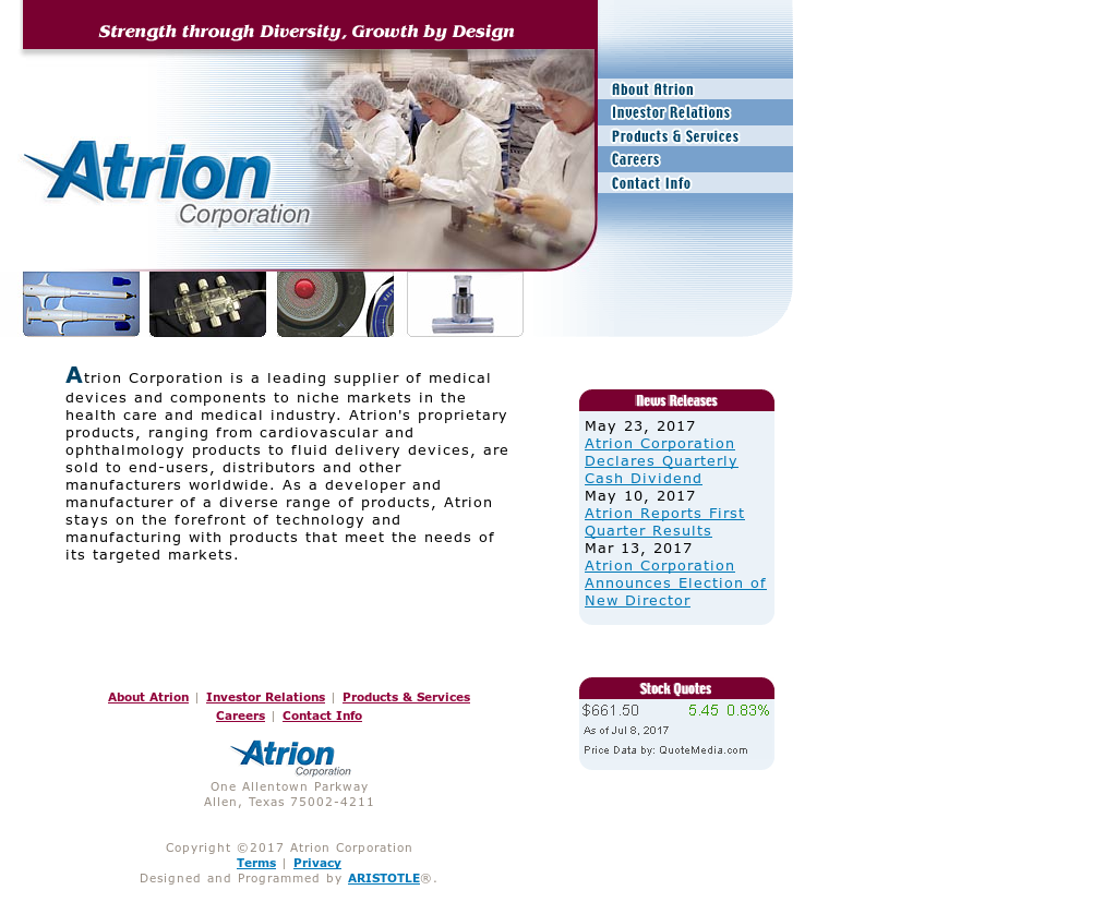 Atrion Competitors Revenue And Employees Owler Company