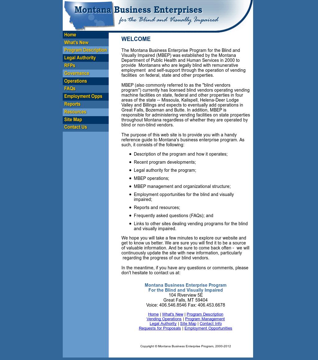 Montana Business Enterprise Competitors, Revenue and ...