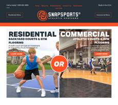 SnapSports website history
